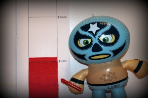 close up of luchador-001